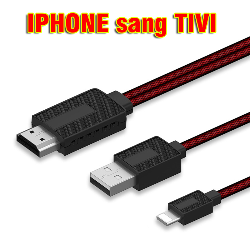 Cáp Iphone to HDMI